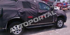 Exclusive - Chevrolet Trailblazer Spied Testing