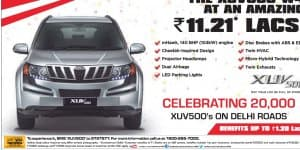 Own a Mahindra XUV500 and Save Rs. 1.20 Lacs - Are You Eligible?