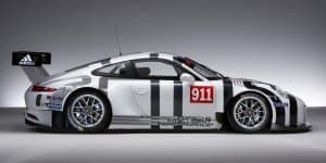 Porsche 911 GT3 R race car with 500PS unveiled
