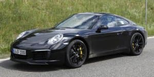 Porsche 911 facelift caught testing undisguised