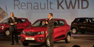 Renault's New Small Car Makes Global Debut in India; Named KWID
