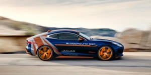 Jaguar F-TYPE R AWD Bloodhound SSC RRV Unveiling on May 30, 2015