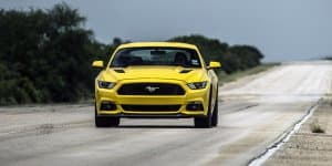 Video - Hennessey Ford Mustang hits record 333 kmph