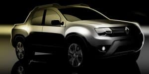 Renault teases new pickup truck
