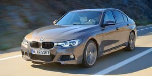 2015 BMW 3-Series Facelift in India for Testing