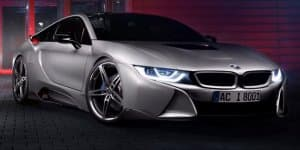 BMW working on a more powerful i8 for 2016