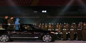 Land Rover unveils special Range Rover Hybrid LWB for the Queen