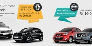 Car Offers & Discounts in June 2015 - Renault and Nissan cars