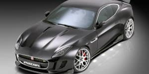 Jaguar F-Type R Coupe subtly tweaked by Piecha Design