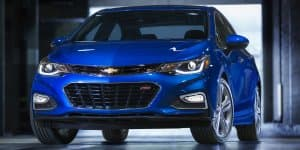 All-new India-bound Chevrolet Cruze breaks cover