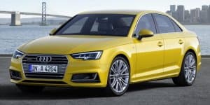 2016 Audi A4 (B9) unveiled with sharper styling