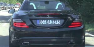Video - Mercedes SLC prototype caught on camera