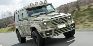 Mercedes G63 AMG by Mansory is an opulent off-roader