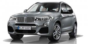 BMW X3 xDrive30d M Sport Launched at Rs. 59.90 Lakhs