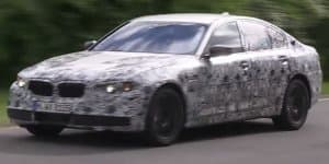 Video - 2017 BMW 5-Series prototype caught on camera testing