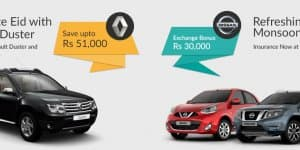 Car Offers & Discounts in July 2015 – Renault Duster and Nissan cars