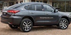 Render - Would you buy a Toyota Fortuner Coupe?