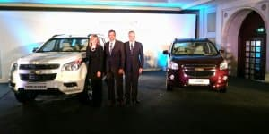 Chevrolet Trailblazer and Spin showcased in India for the first time