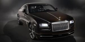 Rolls-Royce Wraith Inspired by Music announced