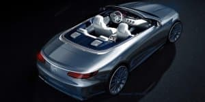 Mercedes teases S-Class Cabriolet