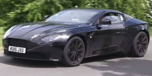 Video - Aston Martin DB11 spied at the Nurburgring