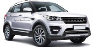 Smallest Range Rover inspired by Hyundai Creta rendered
