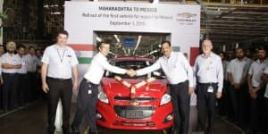 Chevrolet India Exports First Beat to Mexico
