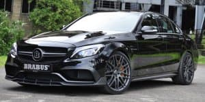 Mercedes-AMG C63 S gets 600 bhp from Brabus