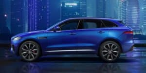 Video - Jaguar shows 2016 F-Pace side profile