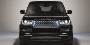 Armored Range Rover Sentinel revealed with VR8 certification