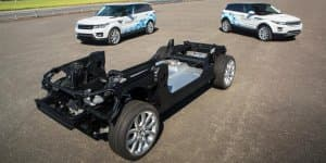 Land Rover shows off trio of Concept_e research vehicles