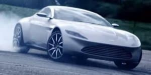 Video - Aston Martin shows off James Bond's DB10