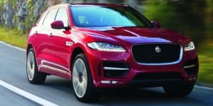 Jaguar F-Pace debuts in production guise at IAA