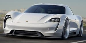Porsche Mission E concept shocks Frankfurt crowd