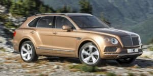 Bentley reserving first Bentayga for Queen of England