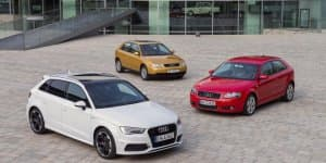 Audi A3 completes 20 years in International markets