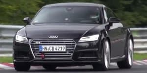 Video - Audi TT RS continues Nurburgring testing