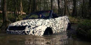Video - Range Rover Evoque Cabrio new teaser