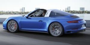Porsche launches turbocharged 911 Carrera 4 & Targa 4