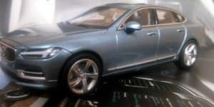 Volvo S90 leaks out again, thanks to the scale model!