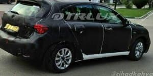Fiat Tipo hatchback spied with production body