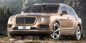 Diesel Bentley Bentayga will have electric turbo