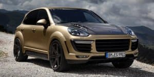 Porsche Cayenne Turbo tricked out by TOPCAR