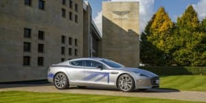 Electric RapidE reveals the future of Aston Martin