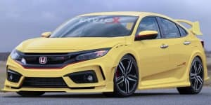 New Honda Civic Type R hatchback gets rendered
