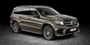 2017 Mercedes Benz GLS Revealed