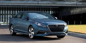 2016 Hyundai Sonata Plug-in Hybrid Electric Vehicle Revealed