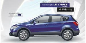 Maruti S-Cross Premia Launched at Rs. 8.99 Lakhs