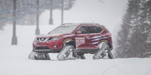 Video - Watch Nissan Rogue Warrior conquer snow with ease