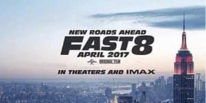 Vin Diesel drops down the first Fast 8 poster